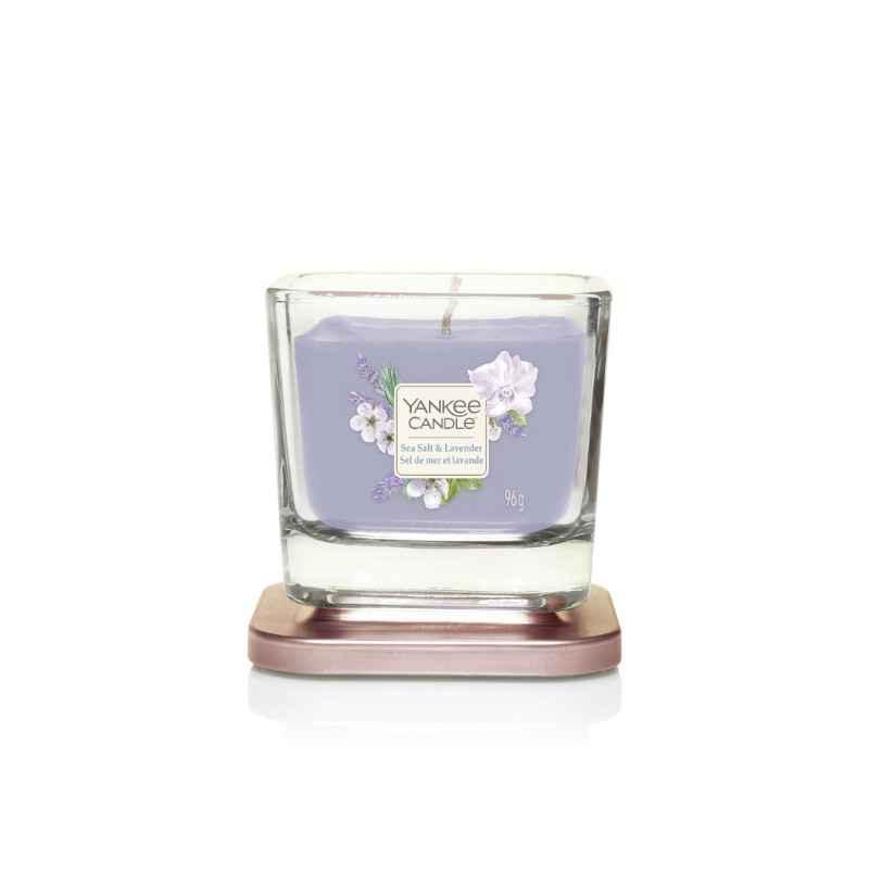 Yankee Candle Elevation Sea Salt & Lavender - mała świeca zapachowa - candlelove