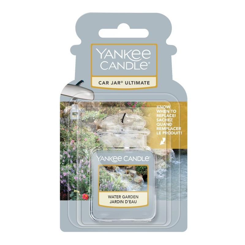 Yankee Candle Water Garden Car Jar Ultimate - zapach samochodowy - candlelove