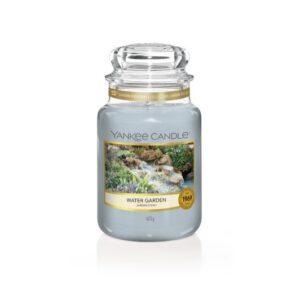 Yankee Candle Water Garden - duża świeca zapachowa - candlelove