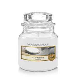 Yankee Candle Baby Powder - mała świeca zapachowa - candlelove