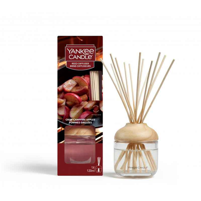 Yankee Candle Crisp Campfire Apples - pałeczki zapachowe - candlelove