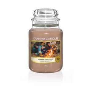 Yankee Candle Warm & Cosy - duża świeca zapachowa - candlelove