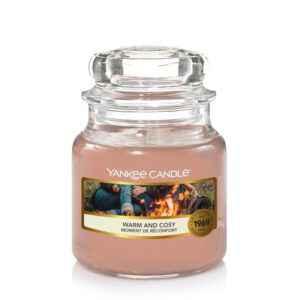 Yankee Candle Warm & Cosy - mała świeca zapachowa - candlelove