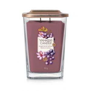 Yankee Candle Elevation Grapevine & Saffron - duża świeca zapachowa