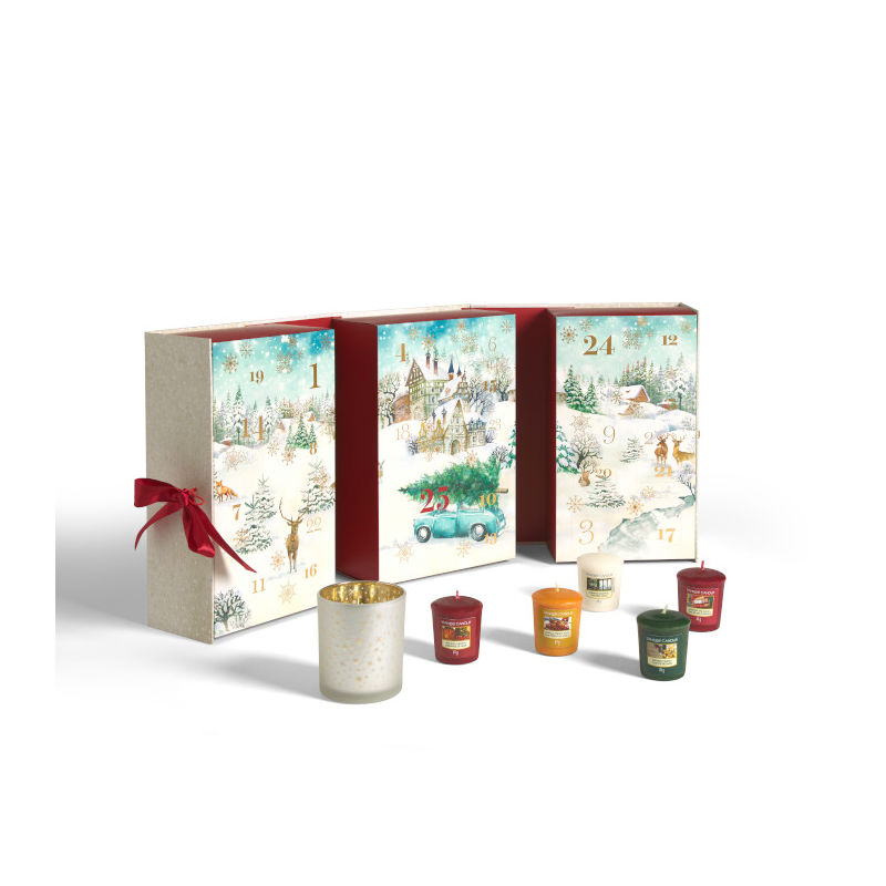 Yankee Candle Magical Christmas Morning - kalendarz adwentowy - candlelove