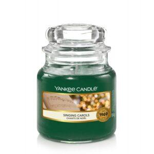 Yankee Candle Singing Carols - mała świeca zapachowa - candlelove