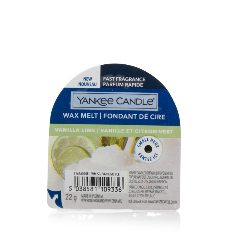Yankee Candle Vanilla Lime - wosk zapachowy - e-candlelove