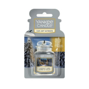 Yankee Candle Candlelit Cabin Car Jar Ultimate - zapach samochodowy - candlelove