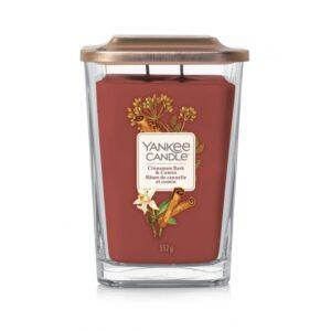Yankee Candle Elevation Cinnamon Bark & Cumin - duża świeca zapachowa - candlelove