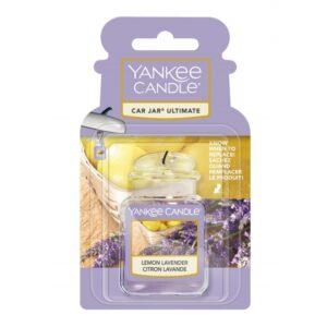 Yankee Candle Lemon Lavender Car Jar Ultimate - zapach samochodowy - Candlelove