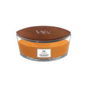 WoodWick Caramel Toasted Sesame - świeca zapachowa Elipsa - candlelove
