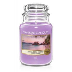 Yankee Candle Bora Bora Shores - duża świeca zapachowa - candlelove