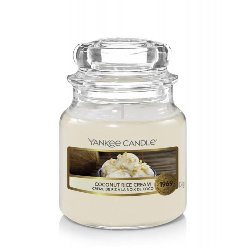 Yankee Candle Coconut Rice Cream - mała świeca zapachowa - candlelove