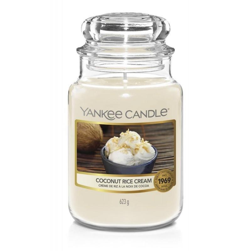 Yankee Candle Coconut Rice Cream - duża świeca zapachowa - candlelove