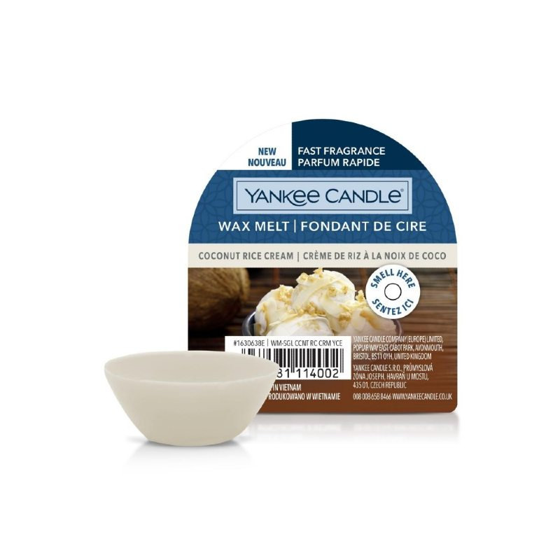 Yankee Candle Coconut Rice Cream - wosk zapachowy - candlelove