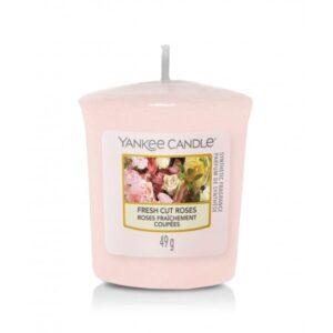 Yankee Candle Fresh Cut Roses - sampler zapachowy - candlelove