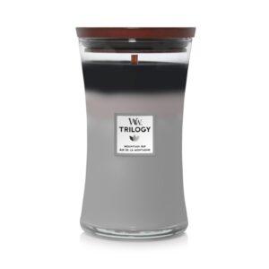 WoodWick Monuntain Air - duża świeca zapachowa - candlelove