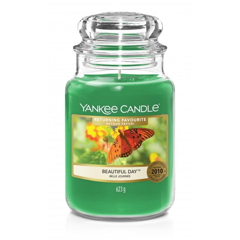 Yankee Candle Beautiful Day - duża świeca zapachowa - candlelove