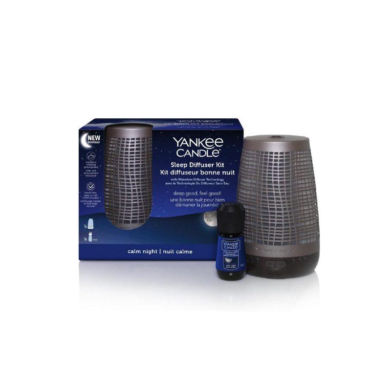 Yankee Candle Calm Night - odświeżacz sleep diffuser - candlelove