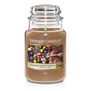 Yankee Candle Chocolate Easter Truffles - duża świeca zapachowa - candlelove