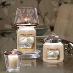 Yankee Candle Kensington - zestaw duży klosz + talerz - candlelove