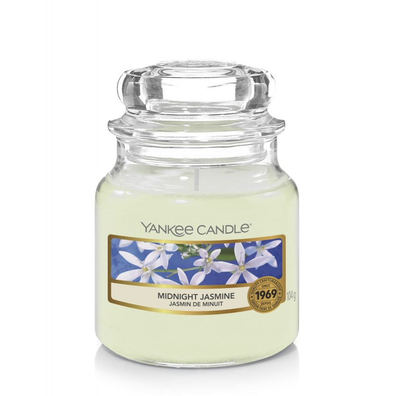 Yankee Candle Midnight Jasmine - mała świeca zapachowa - candlelove