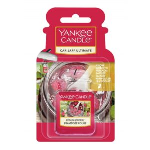 Yankee Candle Red Raspberry Car Jar Ultimate - zapach samochodowy - candlelove