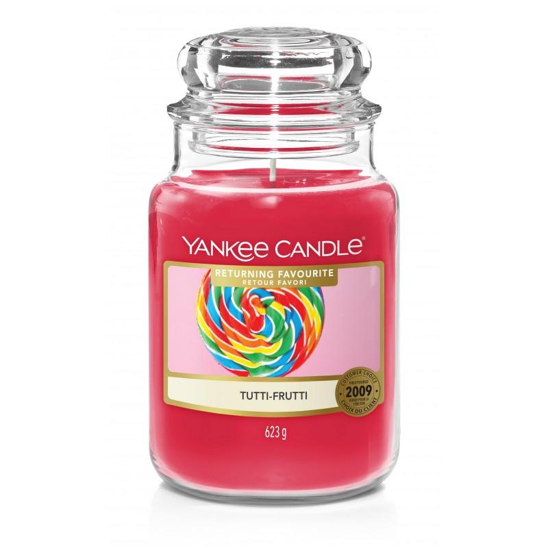 Yankee Candle Tutti - Frutti - duża świeca zapachowa - candlelove
