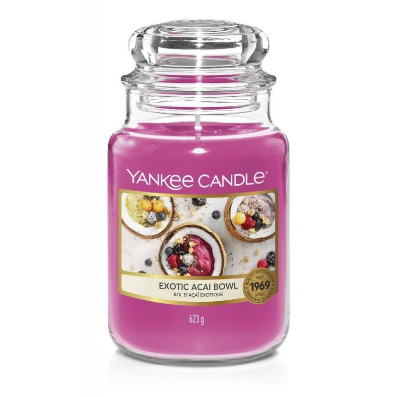 Yankee Candle Exotic Acai Bowl - duża świeca zapachowa - candlelove