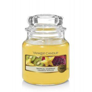 Yankee Candle Tropical Starfruit - mała świeca zapachowa - candlelove