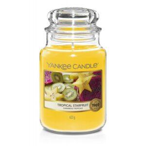 Yankee Candle Tropical Starfruit - duża świeca zapachowa - candlelove