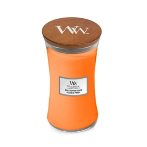 WoodWick Chilli Pepper Gelato - duża świeca zapachowa - candlelove