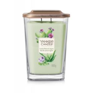 Yankee Candle Elevation Cactus Flower & Agave - duża świeca zapachowa - candlelove