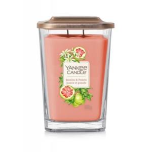 Yankee Candle Elevation Jasmine & Pomelo - duża świeca zapachowa - candlelove