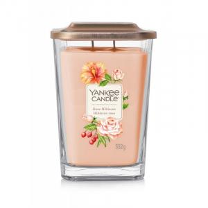 Yankee Candle Elevation Rose Hibiscus - duża świeca zapachowa - candlelove