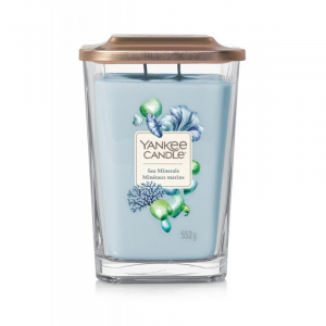 Yankee Candle Elevation Sea Minerals - duża świeca zapachowa - candlelove