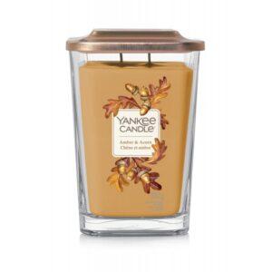 Yankee Candle Elevation Amber & Acorn - duża świeca zapachowa - candlelove