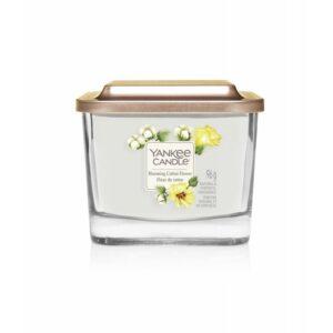 Yankee Candle Elevation Blooming Cotton Flower - mała świeca zapachowa - candlelove