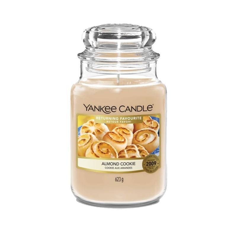 Yankee Candle Almond Cookie - duża świeca zapachowa - candlelove