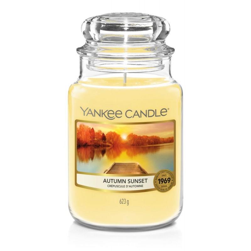 Yankee Candle Autumn Sunset - duża świeca zapachowa - candlelove