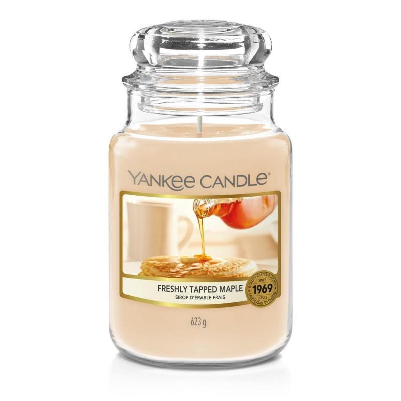 Yankee Candle Freshly Tapped Maple - duża świeca zapachowa - candlelove