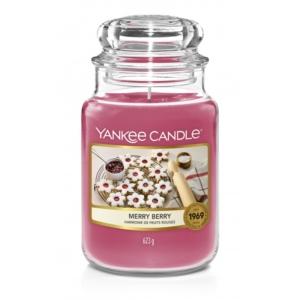 Yankee Candle Merry Berry - duża świeca zapachowa - candlelove