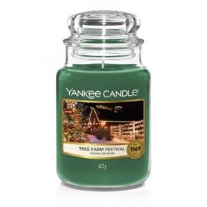 Yankee Candle Tree Farm Festival - duża świeca zapachowa - candlelove